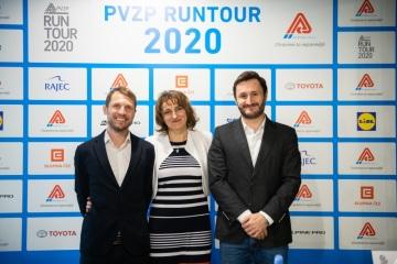Největší rodinný běžecký seriál v České republice - RunTour - představuje novinky pro rok 2020 a nového generálního partnera