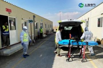 Shanghai Electric Dubai Dubai pořádá pravidelné bezpečnostní cvičení