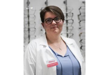 Bc. Kristýna Štěbetáková, optometriska společnosti Alensa
