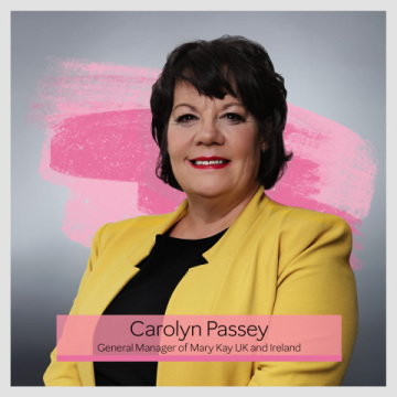 Carolyn Passeyová, generální ředitelka společnosti Mary Kay ve Spojeném království a Irsku