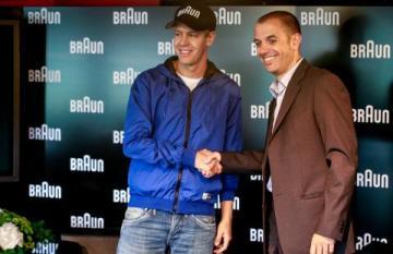 Sebastian Vettel announced as Braun\\'s new ambassador (Photo: Business Wire)