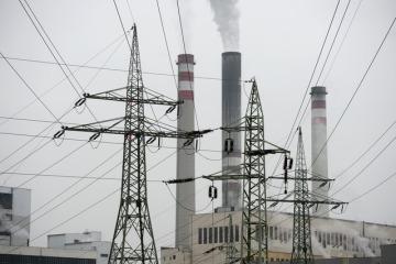 Tepelná elektrárna Mělník (na snímku z 30. října).
