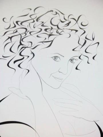 M. Žemličková: portrét Lucie Bílé