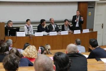 Konference v roce 2015 Moderní trendy ve výuce jazyků, účastníci panelové diskuse