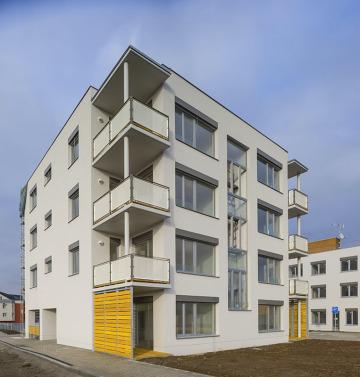 Bydlení Úvaly - 2. etapa nízkoenergetického bydlení