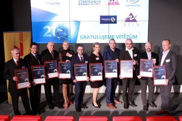 Vítězové 21. ročníku Exportní ceny DHL Unicredit pod záštitou agentury CzechTrade