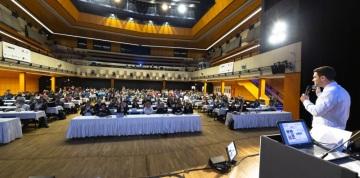Rekordních 521 účastníků se sjelo do Kongresového centra Praha na 19. ročník konference INSPO o technologiích pro osoby se specifickými potřebami. (Foto: Václav Winter)