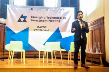 Lennix Lai, ředitel pro finanční trhy společnosti OKEx na setkání EmTech Investment Meeting 2020