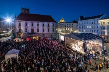 Festival Svátky písní na Horním náměstí v Olomouci