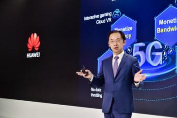 Ryan Ding, výkonný ředitel představenstva a prezident společnosti Carrier BG společnosti Huawei