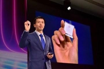 Peng Song představuje 5G E2E řešení (PRNewsfoto/Huawei)