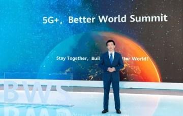 Peng Song, prezident divize marketingu a prodeje řešení společnosti Carrer BG ze skupiny Huawei