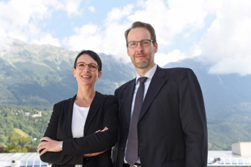 HerzogKittler: Susanne E. Herzog, Head of the Executive Education Department at MCI, and Markus Kittler, Academic Program Director, further developed the Executive PhD program in a highly professional manner with regard to the COVID requirements. © MCI