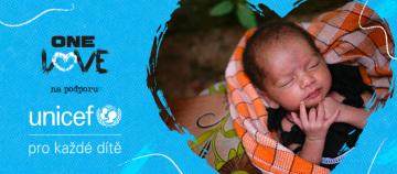 Česká pobočka UNICEF spouští kampaň One Love a apeluje na českou veřejnost, aby se připojila k výzvě #OneLoveOneHeart. Cílem kampaně One Love je ochránit 1,2 milionu dětí před dopady pandemie COVID-19.
