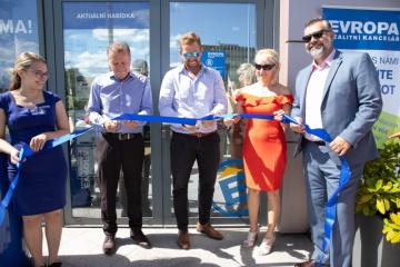 Otevření nové pobočky realitní kanceláře EVROPA v Olomouci.