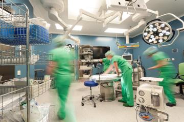 Iscare má novou nemocnici