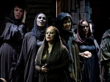 Nabucco na scéně Vladimíra Šrámka