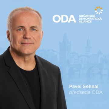 Pavel Sehnal, předseda ODA