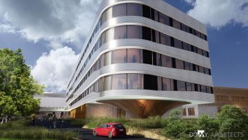 Krajská zdravotní: dostavba nemocnice