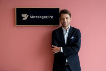 Robert Vis, MessageBird CEO (Foto: Business Wire)