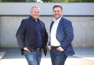 Vladimír Kvaš, CEO a spoluzakladatel společnosti a Michal Hampl, spoluzakladatel a International Project Director Geetoo