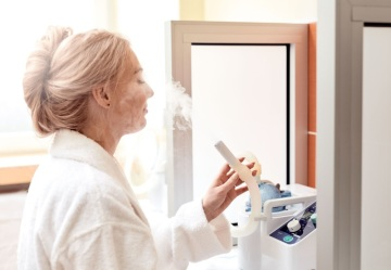 Procedura inhalace, Foto: Imperial Karlovy Vary, a.s.