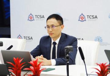 Adkins Zheng z organizace TCSA na fóru Dialog kontinentů (Dialogue of Continents)