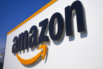 Logo společnosti Amazon.