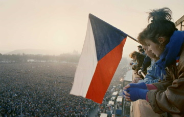 Letná, Letenská pláň, manifestace 25. a 26. 11.1989.