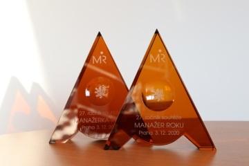 V 27. ročníku soutěže MANAŽER ROKU, vyhlašovaném Českou manažerskou asociací, zvítězili Jan Juchelka a Hana Šmejkalová