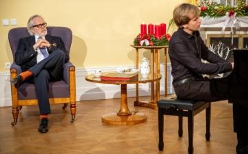 František Kinský a Matyáš Novák