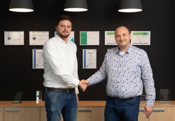 Michael Trousil team leader projektu Geetoo Scale a Petr Biskup Account Executive, Alliances Dell Technologies