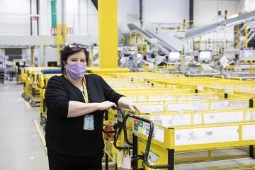 Českou Amazon Box Star se stala Magda Matúzová z oddělení příjmu zboží