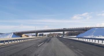 Fotografie mostu po dokončení výstavby