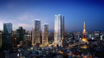 Projekt Toranomon-Azabudai v Tokiu.