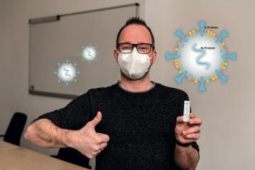 Pomocí rychlého testu od společnosti nal von minden GmbH z Německa lze spolehlivě detekovat také virové mutace