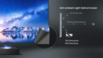 Ukázka, jak funguje laserová televize.