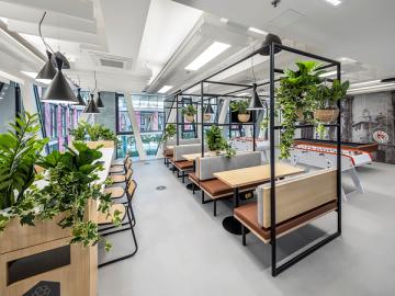 Kanceláře R&D centra Pure Storage v Praze