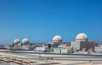 Jaderná elektrárna Baráka ve Spojených arabských emirátech