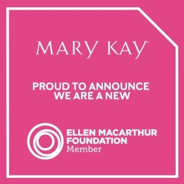 Společnost Mary Kay se zavázala ke snižování své ekologické stopy, podniká kroky ke zlepšení efektivity svých operací a zavádí odpovědné obchodních postupy. (Grafika: Mary Kay Inc.)
