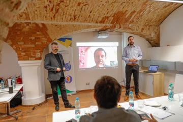 Prezentace uchazeče v inkubačním programu Plzeňského kraje