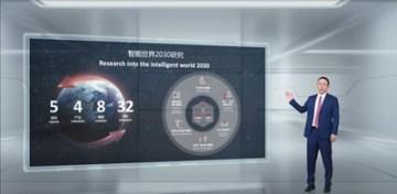 David Wang představuje zprávu Intelligent World 2030