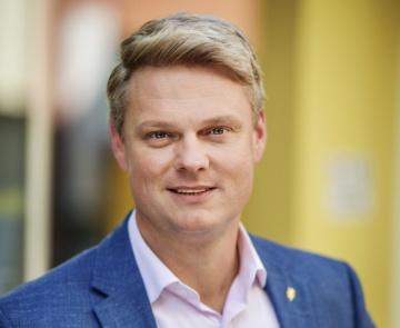 Generální ředitel Agentury pro podnikání a investice (API) Lukáš Vymětal