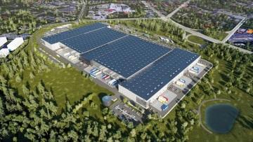 Výstavba logistického parku GLP Park